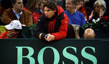 nadal 3 others give doping test at davis cup -...