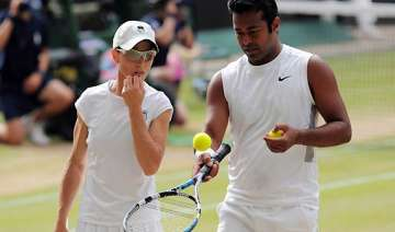 paes black out of wimbledon mixed doubles - India...