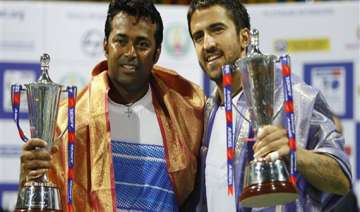 paes tipsarevic win doubles crown in chennai open...