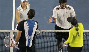 paes vesnina pair ends runner up in aus open...