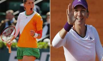 petkovic halep reach french open semifinals -...