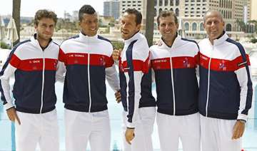 pressure on france in davis cup as us takes lead...