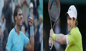 rafael nadal andy murray set up french open semi...