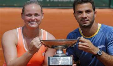 rojer groenefeld win french open mixed doubles -...