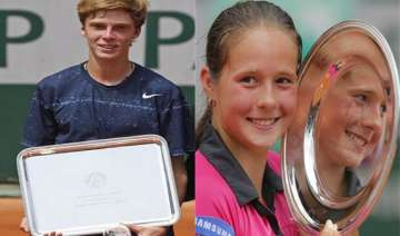 russians win french open junior titles - India TV