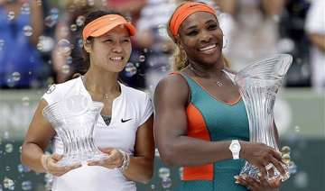 serena williams beats li na for sony open title -...
