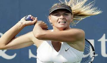 sharapova out of brisbane event with ankle injury...