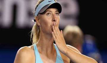 sochi is over tennis queen maria sharapova is...