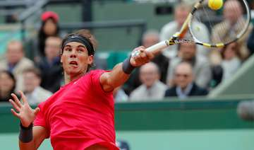6 time champ rafael nadal rolls on at french open...