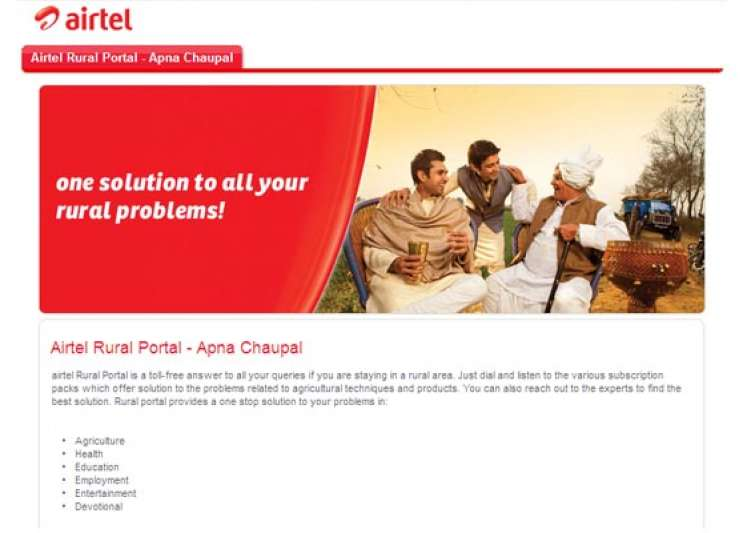 airtel launches voice based portal for value added services
