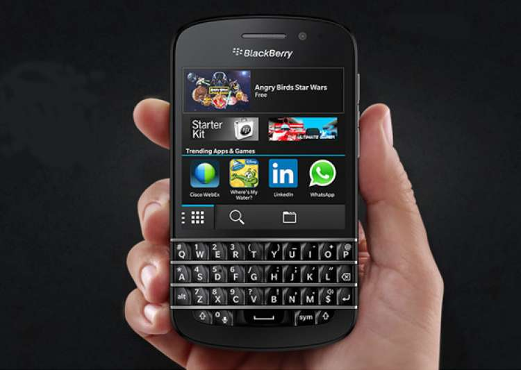 blackberry q10 launched in india for rs 44 990- India Tv