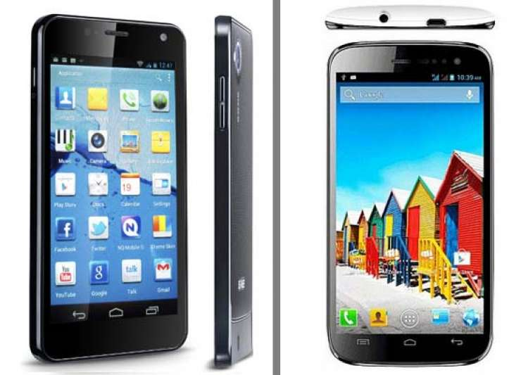 comparison micromax canvas hd vs gionee dream d1- India Tv