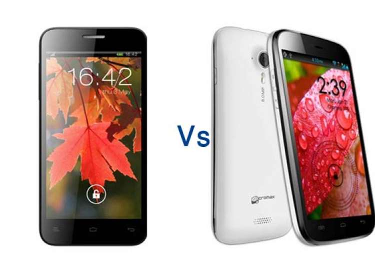 comparison xolo q800 vs micromax canvas hd a116- India Tv
