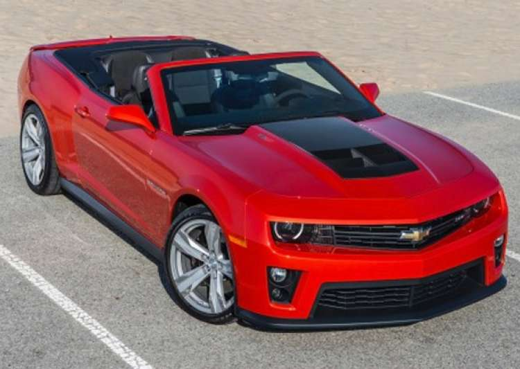 delhi auto expo 2014 chevrolet to unveil 2014 camaro zl1- India Tv