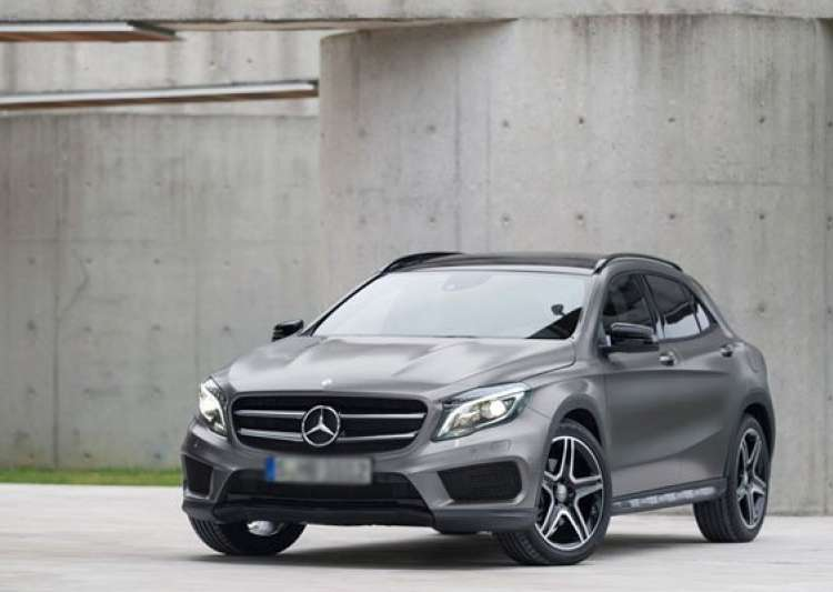 Mercedes gla class suv launched at rs lakh for Mercedes benz gla class india