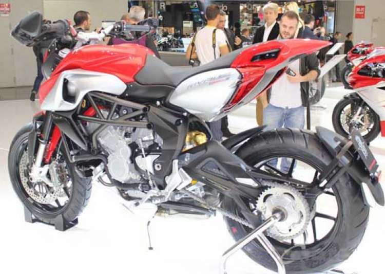 watch the world s most beautiful bike mv agusta rivale 800- India Tv