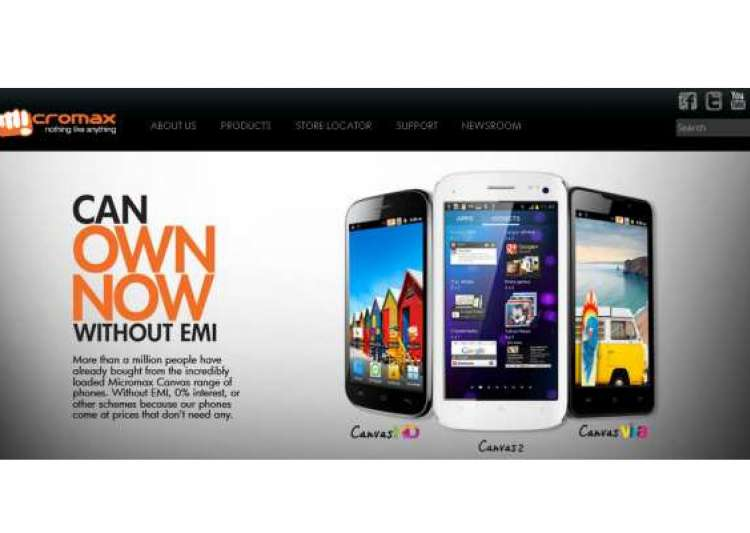 micromax claims it sold over 1 million canvas smartphones- India Tv