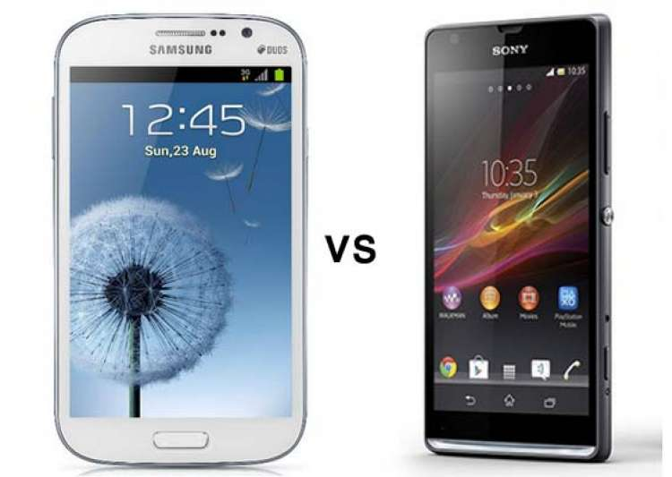 sony xperia c vs samsung galaxy grand duos a comparison- India Tv