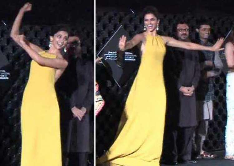 deepika padukone grooved the audience at marrakech intl- India Tv