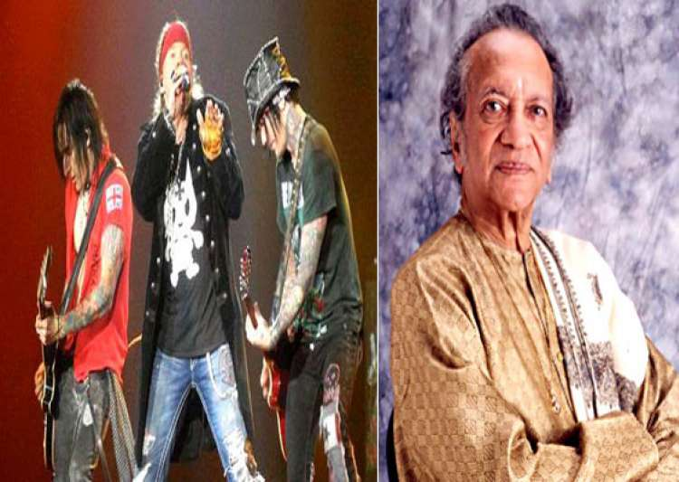 guns n roses pay tribute to pandit ravi shankar- India Tv