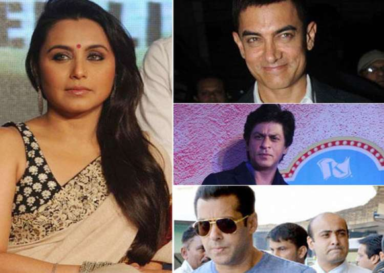 i ve soft corner for salman shah rukh and aamir rani mukerji- India Tv