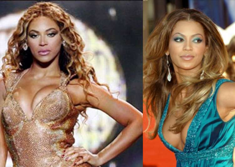 beyonce knowles beats lindsay lohan in dressing room tussle- India Tv