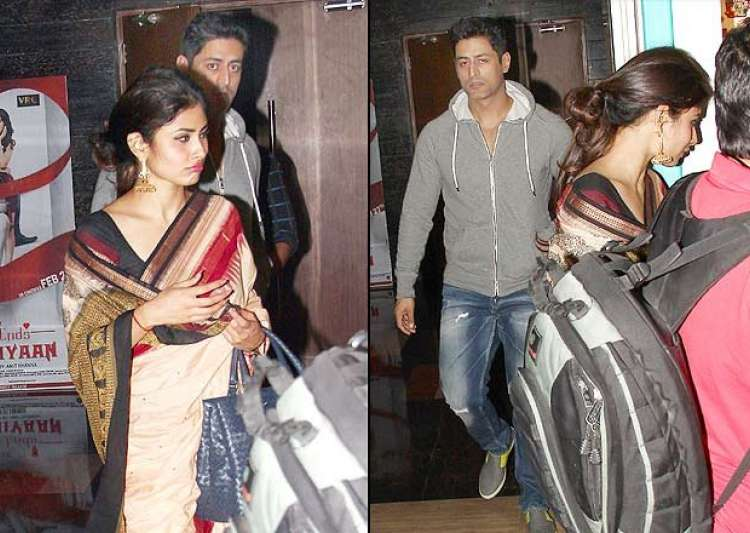 Almost all knows that Mouni Roy and Mohit Raina are the popular ...