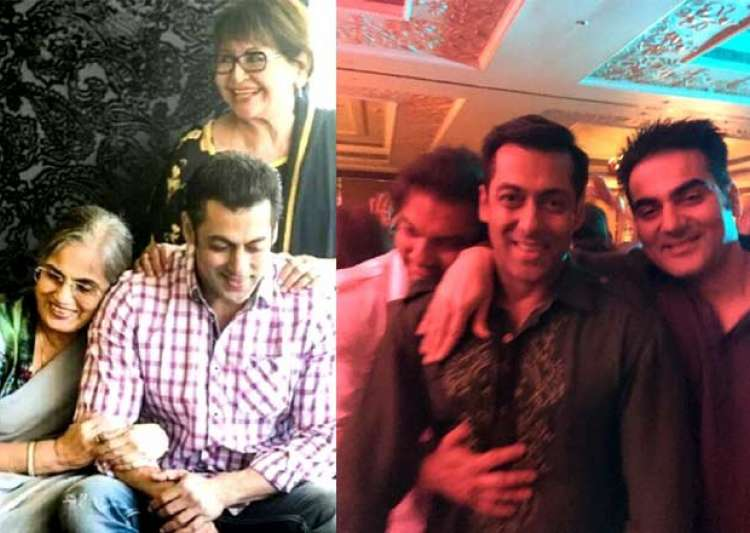 10 photos of Salman Khan along with his family-India TV News