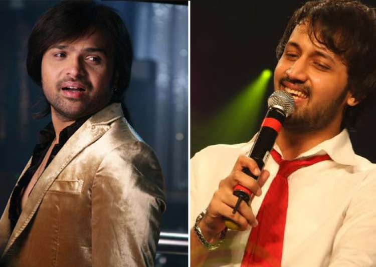 it s himesh vs atif aslam in geo tv musical contest- India Tv