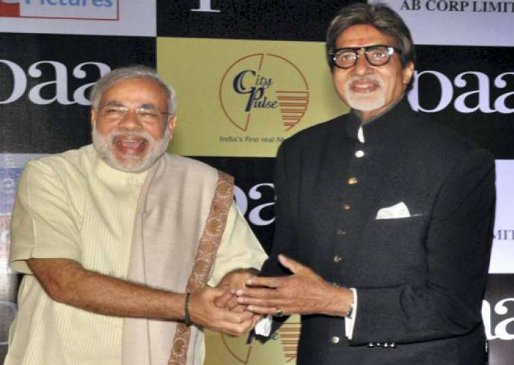 modi thanks big b for taking gujarat on world tourism map- India Tv