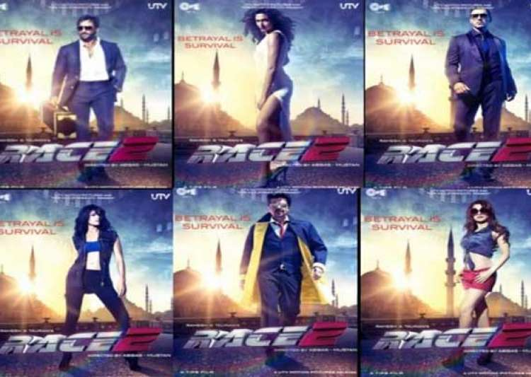 movie review race 2 just a blend of glamorous stars- India Tv