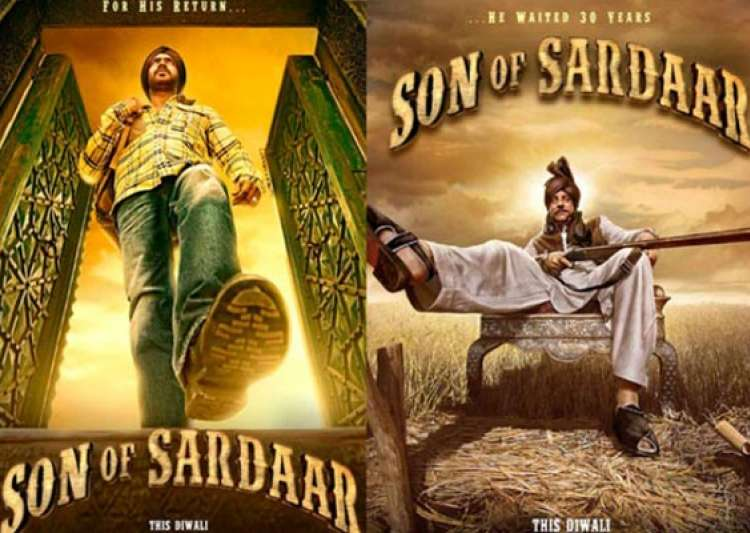 movie review son of sardar jokes fall flat may cause headache- India Tv