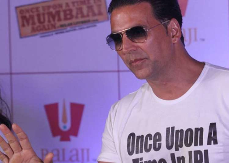 no real life characters in once upon a time in mumbai again says akshay kumar- India Tv