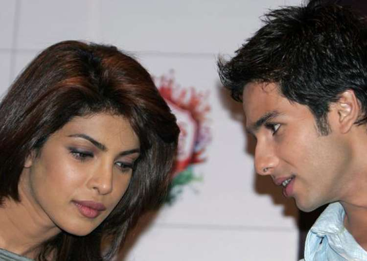 priyanka chopra s secret birthday party with shahid kapoor- India Tv