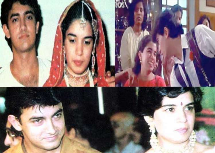rare pictures of aamir khan with his first wife reena- India Tv