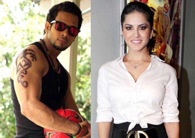 sunny leone shoots with south actor bharath for kaizad- India Tv