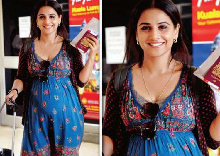 vidya takes pregnancy tips from sister for kahaani- India Tv
