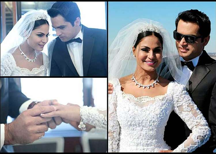 veena malik s white wedding see the inside pictures- India Tv