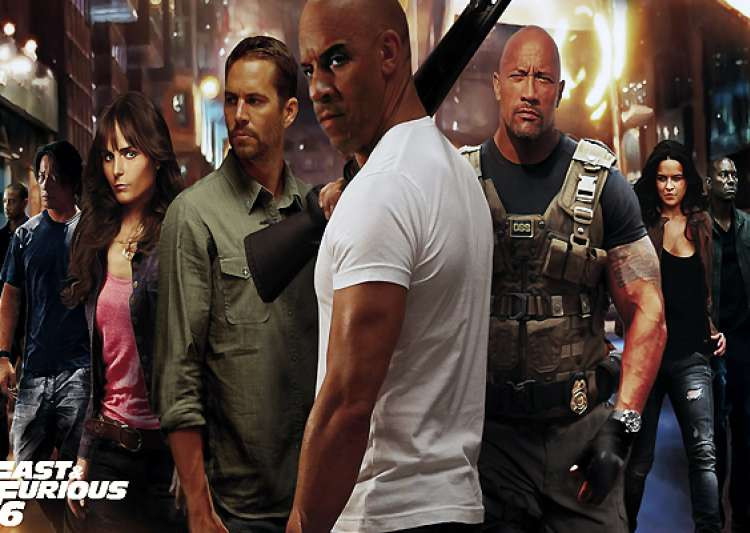 movie review fast furious 6 no brainer action packed- India Tv