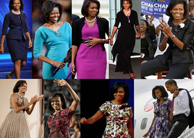 the secret behind michelle obama s power dressing- India Tv