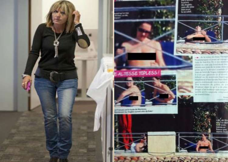french magazine editor says she has more intimate pics of- India Tv