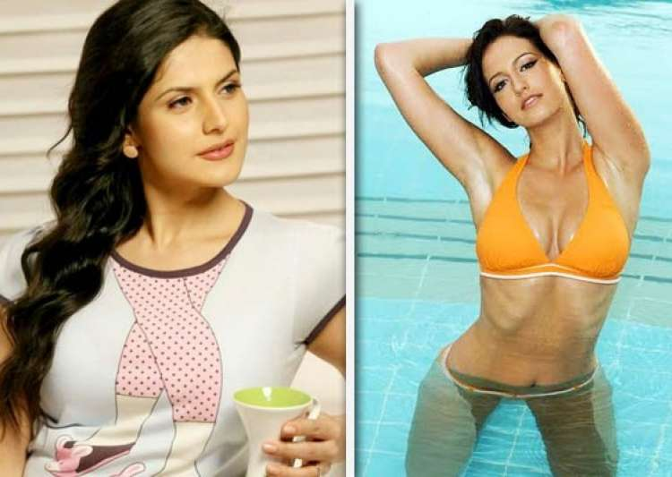 i haven t got a body for bikini says zarine khan- India Tv