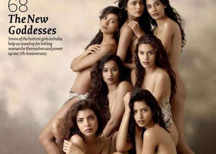 maxim salutes women with nude photoshoot- India Tv
