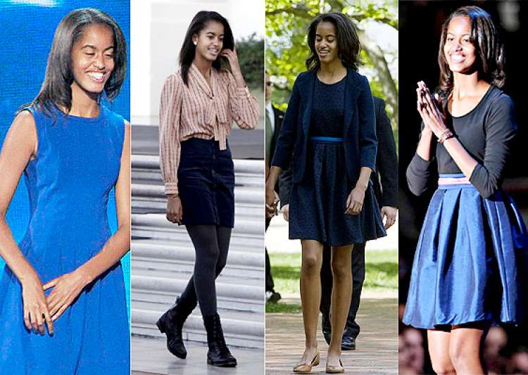 barack obama s daughter malia obama the most influential teen fashion icon see pics- India Tv