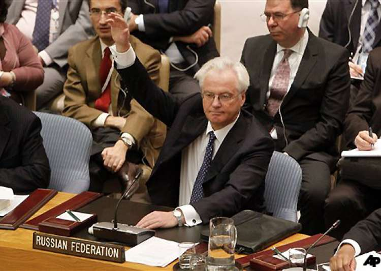 china russia vetoes un syria resolution india votes in favor- India Tv