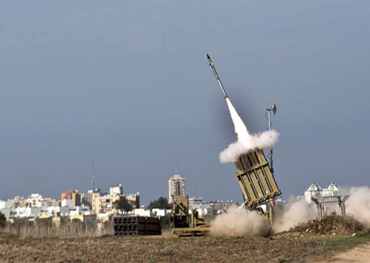 india looks to israel s iron dome to counter short range rockets- India Tv