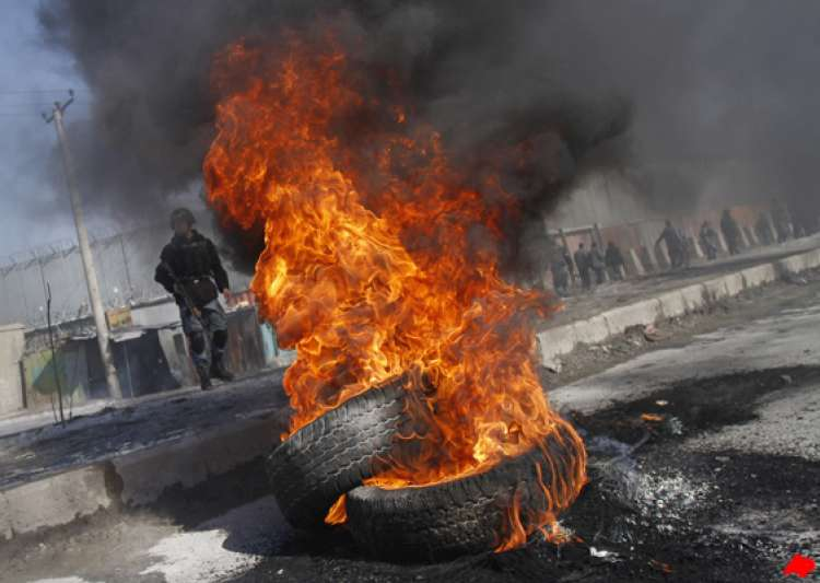 anti us protests rage on for third day in afghanistan- India Tv