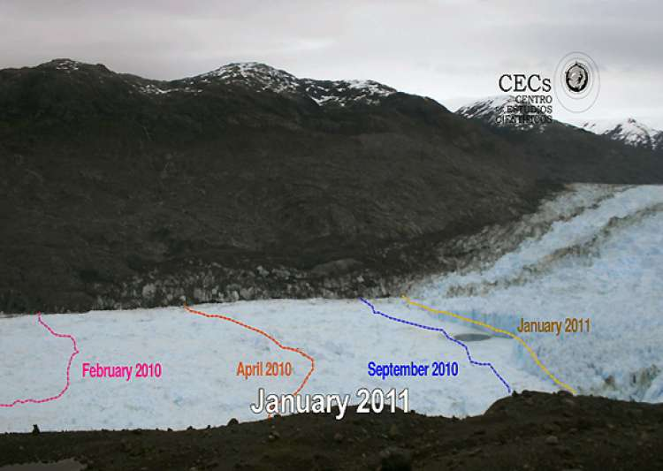 rapid retreat of chile glacier captured in images- India Tv