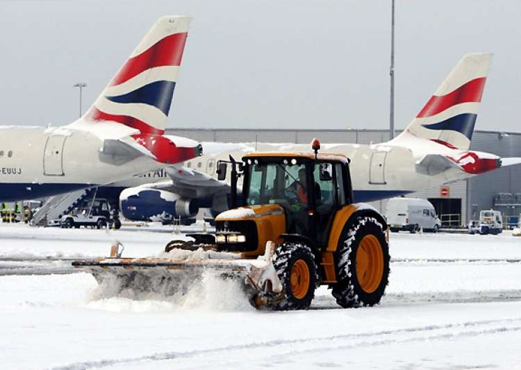 some india bound flights cancelled amid uk snow chaos- India Tv