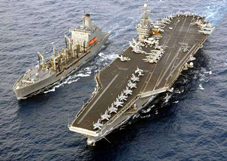 us deploys aircraft carrier uss truman to gulf- India Tv